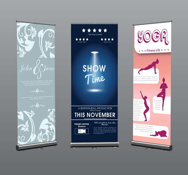 Roller Banners - Printing Swansea | Graphic Realm