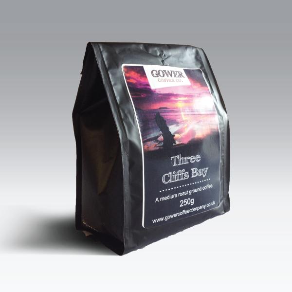 Packaging Design – Gower Coffee